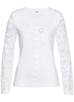 T-shirt en dentelle, bpc selection premium