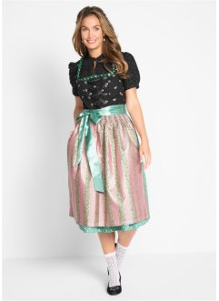 Dirndl avec tablier brillant, bpc bonprix collection