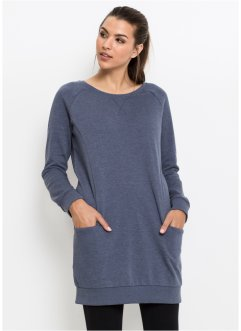 Robe sweat-shirt, manches longues, John Baner JEANSWEAR