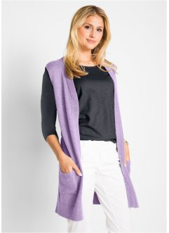 Gilet long sans manches, bpc bonprix collection