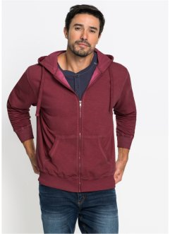 Veste matière sweat à l'optique délavée Regular Fit, bpc bonprix collection
