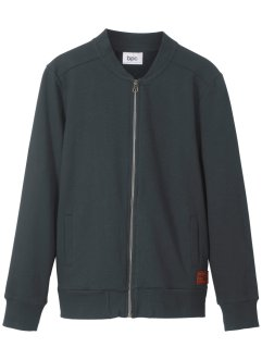 Gilet sweat-shirt style bomber, bpc bonprix collection