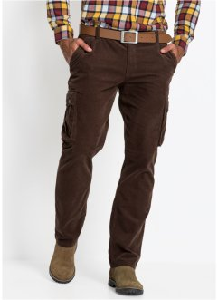 Pantalon cargo en velours côtelé Regular Fit, bpc bonprix collection