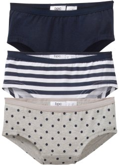 Lot de 2 culottes en coton bio, bpc bonprix collection