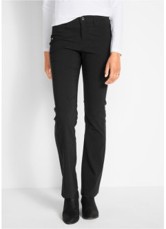 Pantalon en bengaline amincissant bootcut, bpc bonprix collection