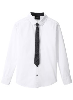 Chemise avec cravate (Ens. 2 pces.), Slim Fit, bpc bonprix collection