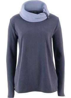 56aad30a4de44 Sweat-shirt polaire, manches longues, bpc bonprix collection