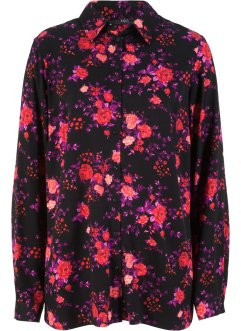 Chemisier en viscose, imprimé floral, bpc bonprix collection