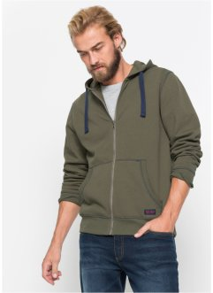 Gilet sweat-shirt Regular Fit, John Baner JEANSWEAR
