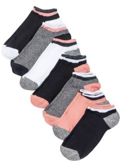 Lot de 7 paires de chaussettes basses, bpc bonprix collection