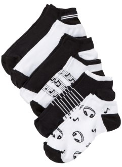 Lot de 6 paires de chaussettes basses, bpc bonprix collection
