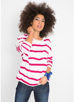Sweat-shirt coupe ample, manches longues, John Baner JEANSWEAR