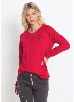Shirt Rose Oeillets 3 Et Manches Femme À Bonprix Sweat 4 Pour w7qtFIxFd