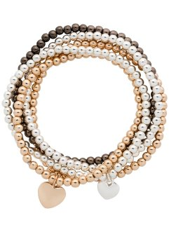 Lot de 5 bracelets, bpc bonprix collection