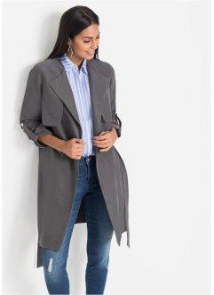 Manteau en synth eacute tique imitation cuir velours, BODYFLIRT c8db7075b841
