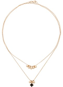 Collier ras-de-cou (Ens. 2 pces.), bpc bonprix collection