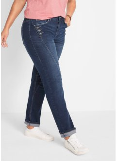 Jean extensible authentique avec boutons, STRAIGHT, John Baner JEANSWEAR