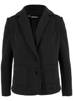 Blazer sweat structuré, bpc bonprix collection
