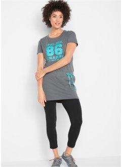 153b332c215062 T-shirt long à manches courtes avec legging, bpc bonprix collection