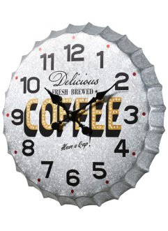 Horloge murale Coffee, bpc living