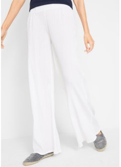 Pantalon large en crêpe, bpc bonprix collection