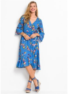 368617ccb8 Robe style portefeuille à imprimé floral, RAINBOW