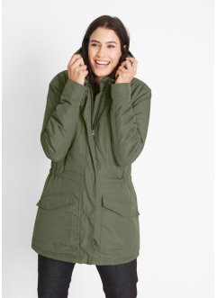 Parka durable en polyester recyclé, bpc bonprix collection