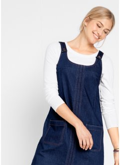 Robe en jean durable en polyester recyclé, bpc bonprix collection