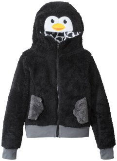 Gilet en polaire peluche à motif animal, bpc bonprix collection