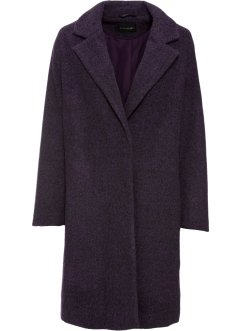 Manteau court aspect laine, BODYFLIRT