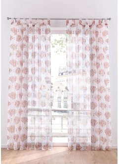 Voilage transparent imprimé (1 pce.), bpc living bonprix collection