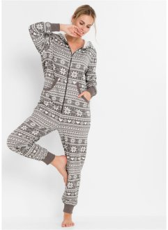 Combipyjama oversize en sweat, bpc bonprix collection