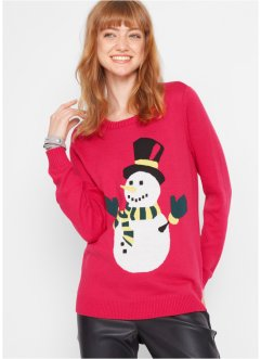 Pull de Noël Bonhomme de neige, bpc bonprix collection