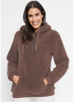 Pull en polaire peluche, bpc bonprix collection