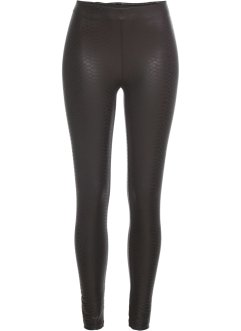 Legging enduit à motif python : Must-Have, BODYFLIRT