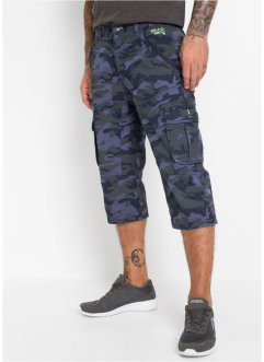 Pantalon cargo 3/4, Regular Fit, RAINBOW