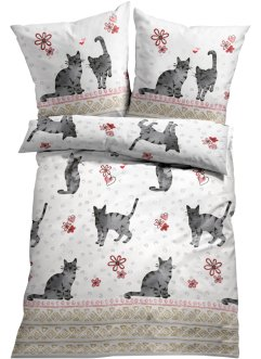 Parure de lit motif chat, bpc living bonprix collection