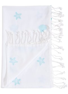 Drap hammam motif hippocampe, bpc living bonprix collection