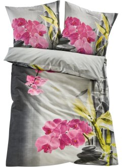 Parure de lit réversible motif zen, bpc living bonprix collection