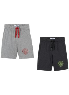 Lot de 2 bermudas jersey garçon, bpc bonprix collection