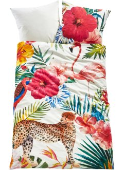 Parure de lit réversible motif tropical, bpc living bonprix collection