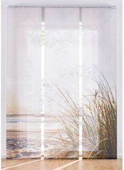 Panneau coulissant motif plage (Ens. 3 pces.), bpc living bonprix collection