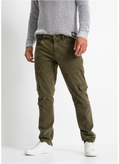 Pantalon cargo extensible Slim Fit, Straight, RAINBOW
