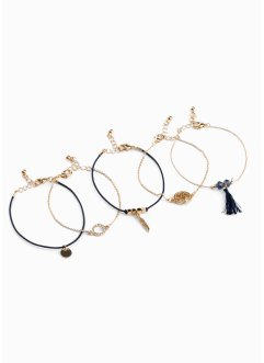 Bracelets (Ens. 5 pces.), bpc bonprix collection