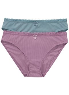 Lot de 2 slips, bpc bonprix collection