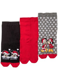Lot de 3 paires de chaussettes Mickey Mouse, Disney