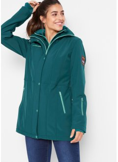 Veste longue softshell extensible, bpc bonprix collection