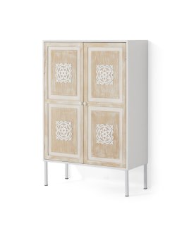 Armoire 2 portes avec ornements, bpc living bonprix collection