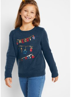 Pull de Noël fille, bpc bonprix collection