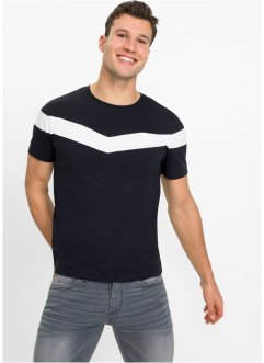 T-shirt extensible, Slim Fit, RAINBOW